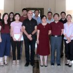 Visiting the Shanghai Academy of Agricultural Sciences