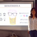 Flor Correa participates to the Pint of Science festival