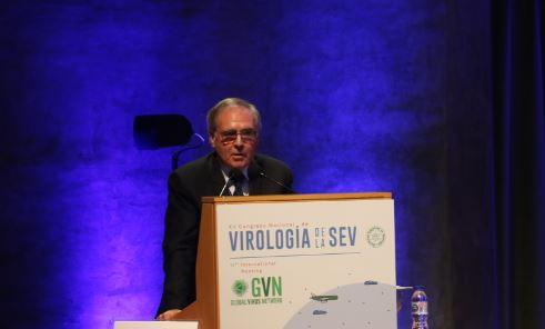 Albert Bosch, catedràtic del Departament de Genètica, Microbiologia i Estadística de la UB i President de la Sociedad Española de Virología (SEV).
