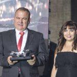 La investigadora Llilianne Ganges del IRTA-CReSA en los Premios Porks 2019 de Colombia