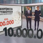 Wildlife and resistance to antibiotics, on Catalan TV newscasts