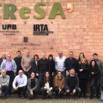"Celebrada amb èxit la primera reunió dels membres de la ""Red de Investigación en Sanidad Animal (RISA)"""
